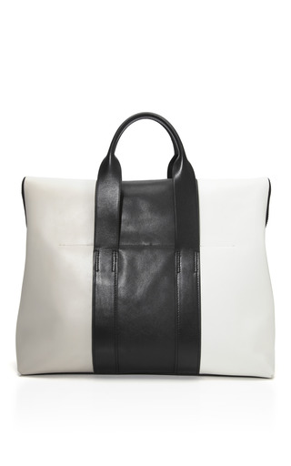 Color Blocked Leather Tricolor 31 Hour Bag by 3.1 PHILLIP LIM for Preorder on Moda Operandi