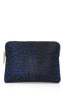 Leopard Print Haircalf 31 Minute Cosmetic Zip by 3.1 PHILLIP LIM for Preorder on Moda Operandi