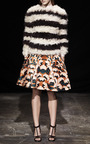 Striped Fuzzy Sweater by THAKOON for Preorder on Moda Operandi