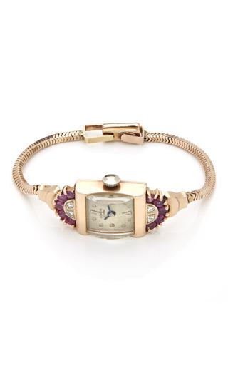 Medium tara compton gold geneva 14k ladies watch