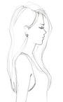 Bone Kat Earring by ANDREA FOHRMAN for Preorder on Moda Operandi