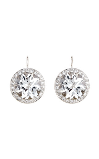 Rock Crystal Kat Earring by ANDREA FOHRMAN for Preorder on Moda Operandi