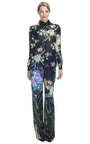 Silk Gazar Floral Blouse by HONOR for Preorder on Moda Operandi