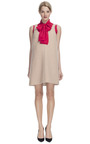 Silk Crepe Tie Blouse by HONOR for Preorder on Moda Operandi