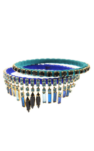 Medium paula bianco multi iris bracelet