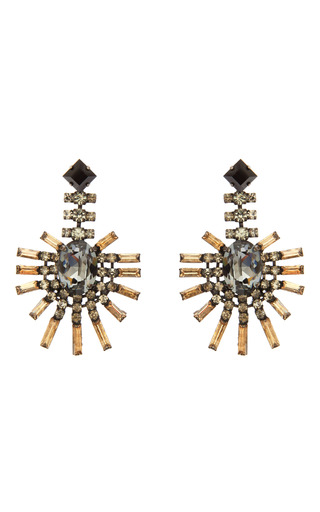 Medium paula bianco multi palm earrings 3