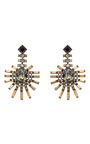 Palm Earrings by PAULA BIANCO for Preorder on Moda Operandi