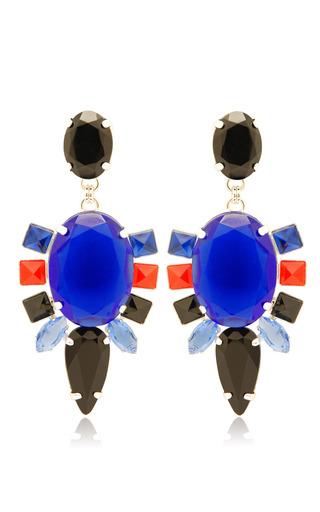 Blue Bulbine Earrings by MOUTONCOLLET for Preorder on Moda Operandi