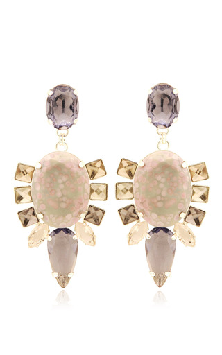 Pink Bulbine Earrings by MOUTONCOLLET for Preorder on Moda Operandi