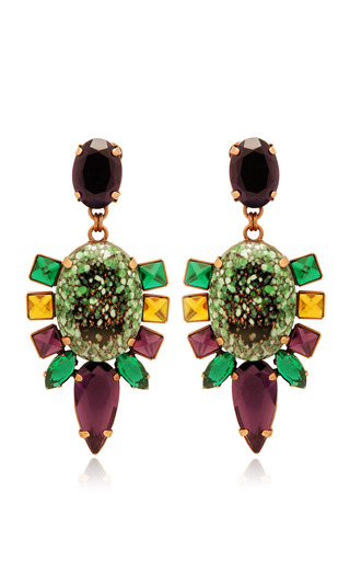 Olive Bulbine Earrings by MOUTONCOLLET for Preorder on Moda Operandi