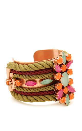 Olive Pumilia Bracelet by MOUTONCOLLET for Preorder on Moda Operandi
