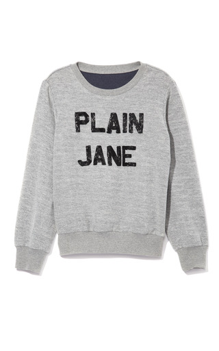 Medium ashish black plain jane sweatshirt