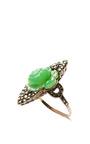 Jade Rose Ring by CAROLE TANENBAUM Now Available on Moda Operandi