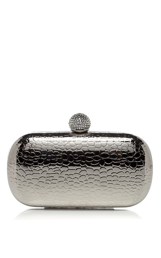 Medium serpui marie silver silver jewelry metallic minaudiere