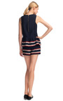 Engineered Stripes Ruffle Tank by SEA for Preorder on Moda Operandi