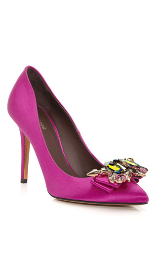 Medium mawi for bruno magli fuchsia koroneia pump 2