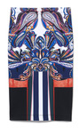 Geometric Owl Neoprene Skirt by CLOVER CANYON for Preorder on Moda Operandi