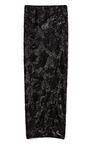 Swirl Sequin Long Scissor Skirt by DONNA KARAN Now Available on Moda Operandi