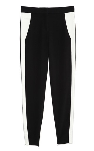 Black And White Sable Stripe Pant by NARCISO RODRIGUEZ Now Available on Moda Operandi