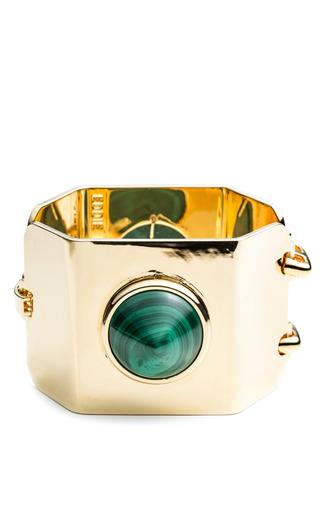 Medium eddie borgo gold yellow gold gemstone cone cuff