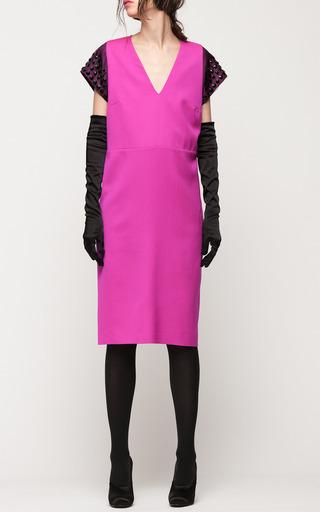 Breakfast Jewel Sleeve Dress by GIULIETTA for Preorder on Moda Operandi