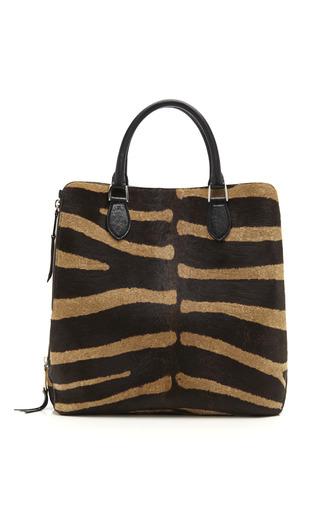 Medium rochas print zebra haircalf new leti satchel