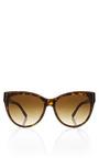 Tortoise Gold Sunglasses by STELLA MCCARTNEY Now Available on Moda Operandi