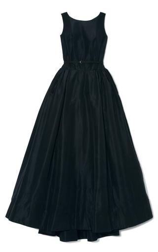Medium rochas blue midnight faille tank gown
