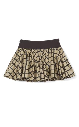 Medium rag bone black windowpane check daisy skirt