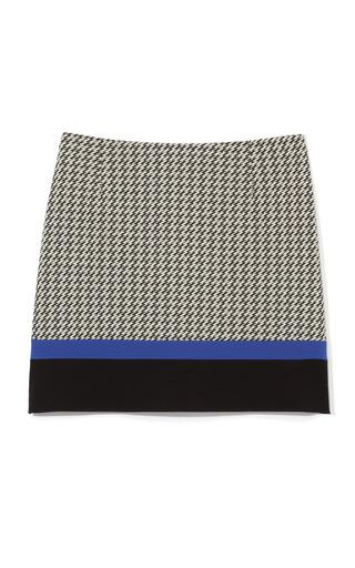 Jazz Stripe Knit Mini Skirt by TIBI for Preorder on Moda Operandi