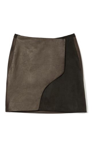 Medium maiyet dark grey wrap mini skirt