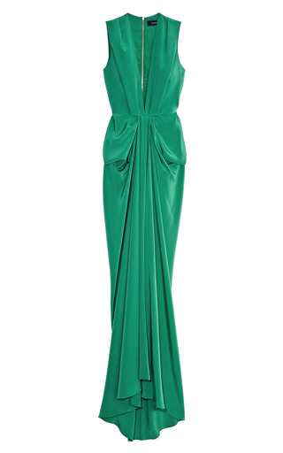 Plunge Front Gown by THAKOON Now Available on Moda Operandi