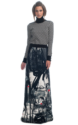 Medium giles multi cady atom age grafitti skirt