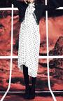 Satin Stamped Polka Dot Halter Dress by GILES for Preorder on Moda Operandi
