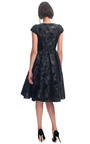 Camouflage Jacquard Party Dress by GILES for Preorder on Moda Operandi