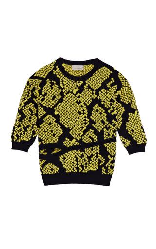 Medium preen multi slice sweater