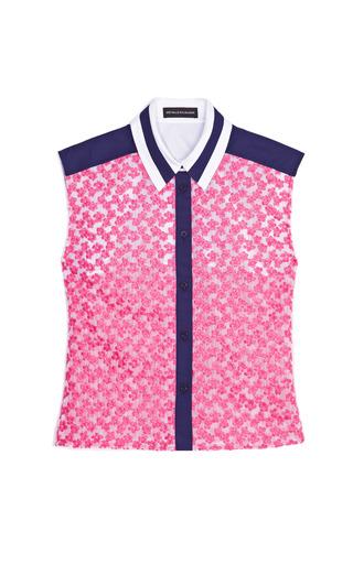 Medium ostwald helgason pink pink flowers shirt