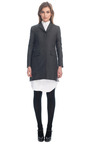 Chesterfield Coat by THOM BROWNE for Preorder on Moda Operandi