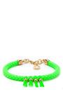 Frankie Knot Detail Rope Bracelet by CAROLINE BAGGI Now Available on Moda Operandi