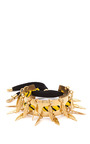 Gaby Gold Plated Charm Cuff by CAROLINE BAGGI Now Available on Moda Operandi