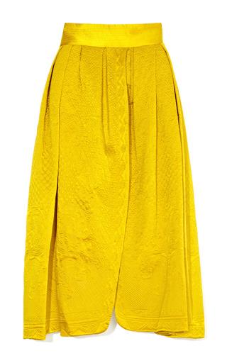 Medium meadham kirchhoff gold de volange skirt