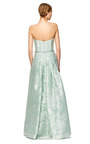 Atlantic Silk Devore Gown by CAROLINA HERRERA Now Available on Moda Operandi