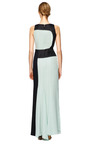 Chiffon Ruched Gown by CAROLINA HERRERA Now Available on Moda Operandi