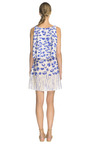 Blurry Leopard Printed Double Layer V Neck Dress by THAKOON ADDITION Now Available on Moda Operandi