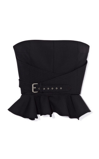 Medium bouchra jarrar black bustier