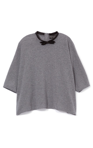 Medium giambattista valli dark grey kimono sweater