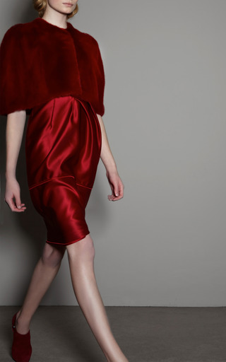 Asymmetric Dress by GIAMBATTISTA VALLI for Preorder on Moda Operandi