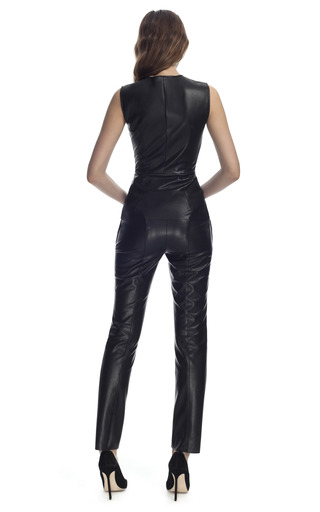 Leather Top by CéDRIC CHARLIER for Preorder on Moda Operandi