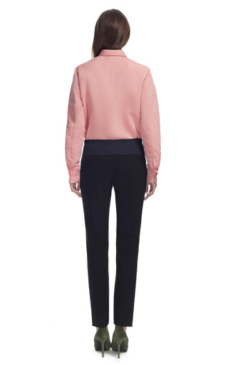 Seamed Blouse by CéDRIC CHARLIER for Preorder on Moda Operandi