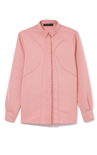 Medium cedric charlier pink seamed blouse